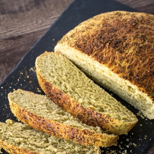 ASIAGO PESTO BREAD